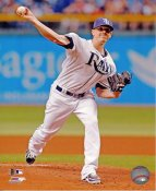 Jeremy Hellickson Tampa Bay Devil Rays SATIN 8X10 Photo