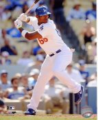 Yasiel Puig LA Dodgers SATIN 8x10 Photo