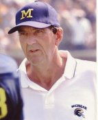 Lloyd Carr Wolverines College 8X10 Photo