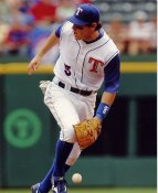 Ian Kinsler SUPER SALE Texas Rangers Slight Corner Crease 8X10 Photo