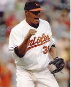 Daniel Cabrera SUPER SALE Baltimore Orioles Slight Crease 8X10 Photo