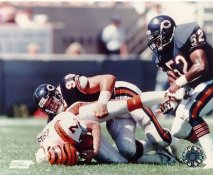 Dan Hampton LIMITED STOCK Chicago Bears 8X10 Photo