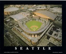 A1 Safeco Field Aerial Seattle Mariners 8X10 Photo