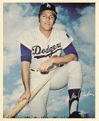 Wes Parker Original Stadium Souvenir With Stamped Signature LA Dodgers 8x10 Photo