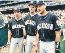 Scott Brosius, Paul O'Neill & Derek Jeter SUPER SALE New York Yankees 8X10 Photo