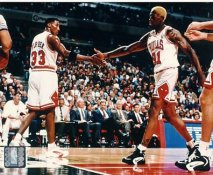Scottie Pippen & Dennis Rodman LIMITED STOCK Chicago Bulls 8X10 Photo