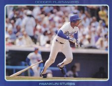 Franklin Stubbs Stats On Back Unocal Poster Stock Includes Free Top Loader SUPER SALE LA Dodgers 8 1/2X11 Photo