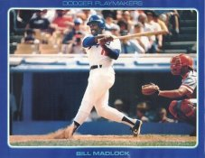 Bill Madlock Stats On Back Unocal Poster Stock Includes Free Top Loader SUPER SALE LA Dodgers 8 1/2X11 Photo