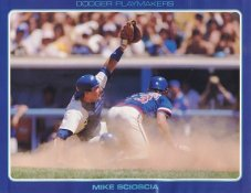 Mike Scioscia Stats On Back Unocal Poster Stock Includes Free Top Loader SUPER SALE LA Dodgers 8 1/2X11 Photo
