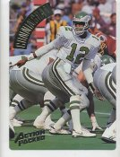 Randall Cunningham LIMITED STOCK Action Packed Mammoth Cards w/ Stats on Back Philadelphia Eagles 7.5 X 10.5 Photo Card