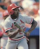 Vince Coleman LIMITED STOCK St. Louis Cardinals Glossy Card Stock 8x10 Photo