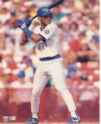 Gary Sheffield LIMITED STOCK Milwaukee Brewers Glossy Card Stock 8x10 Photo
