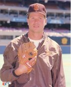 Mark Davis LIMITED STOCK San Diego Padres Glossy Card Stock 8x10 Photo