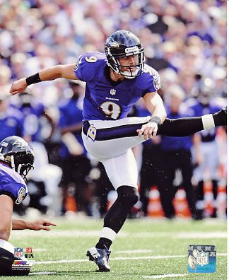 Justin Tucker Baltimore Ravens SATIN 8X10 Photo