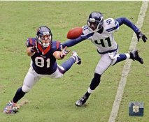 Owen Daniels Houston Texans SATIN 8X10 Photo