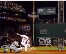 Shane Victorino Grand Slam 2013 World Series Boston Red Sox LIMITED STOCK SATIN 8X10 Photo