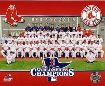 Boston 2013 World Series Champions Sit Down Boston Red Sox SATIN 8x10 Photo