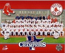 Boston 2013 World Series Champions Sit Down Boston Red Sox SATIN 8x10 Photo