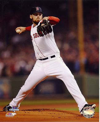 John Lackey Game 6 of 2013 World Series Boston Red Sox SATIN 8x10 Photo