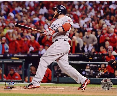 Jonny Gomes 3 Run H.R Game 4 of 2013 World Series Boston Red Sox SATIN 8x10 Photo