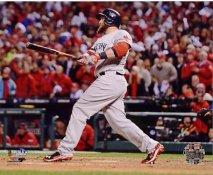 Jonny Gomes 3 Run H.R Game 4 of 2013 World Series Boston Red Sox SATIN 8x10 Photo