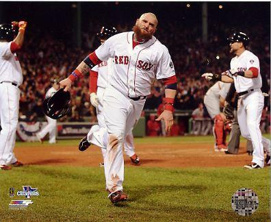 Jonny Gomes Game 6 of 2013 World Series Boston Red Sox SATIN 8x10 Photo