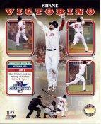 Shane Victorino 2013 World Series ALCS Champions Boston Red Sox SATIN 8x10 Photo