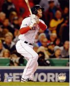 Stephen Drew 2013 World Series Boston Red Sox SATIN 8x10 Photo