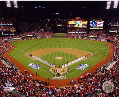 N1 Busch Stadium 2013 World Series St. Louis SATIN 8X10 Photo