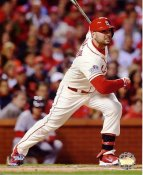 Matt Holliday 2013 World Series Game 3 RBI Single St. Louis Cardinals SATIN 8x10 Photo