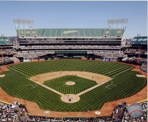 N2 Coliseum Oakland Athletics SATIN 8X10 Photo