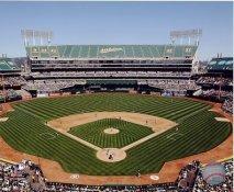 N2 Coliseum Oakland Athletics SATIN 8X10 Photo