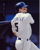 Jeff Bagwell Houston Astros LIMITED STOCK Zenith Pinnacle Card 8X10 Photo