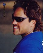Mike Piazza Los Angeles Dodgers LIMITED STOCK Zenith Pinnacle Card 8X10 Photo