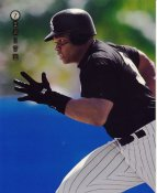 Frank Thomas Chicago White Sox LIMITED STOCK Zenith Pinnacle Card 8x10 Photo