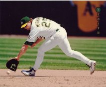 Mark McGwire Oakland Athletics LIMITED STOCK Zenith Pinnacle Card 8X10 Photo