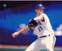 Roger Clemens Toronto Blue Jays LIMITED STOCK Zenith Pinnacle Card 8X10 Photo