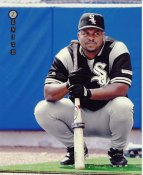 Albert Belle Chicago White Sox LIMITED STOCK Zenith Pinnacle Card 8X10 Photo