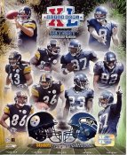 Steelers 2006 Super Bowl Champs Pittsburgh Team vs Seattle Seahawks LIMITED STOCK 8x10 Photo