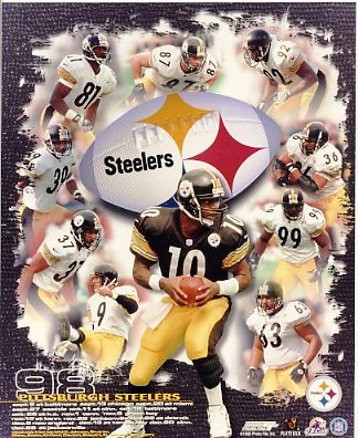 Steelers 1998 Pittsburgh Team LIMITED STOCK 8x10 Photo