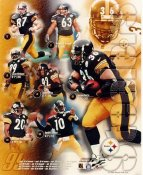 Steelers 1999 Pittsburgh Team LIMITED STOCK 8x10 Photo