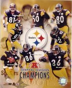 Steelers 2001 AFC Division Champs Pittsburgh Team LIMITED STOCK 8x10 Photo