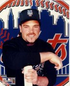 Mike Piazza LIMITED STOCK New York Mets 8X10 Photo