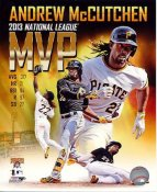 Andrew McCutchen 2013 NL MVP Pittsburgh Pirates SATIN 8X10 Photo
