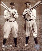 Shoeless Joe Jackson & Ty Cobb LIMITED STOCK SATIN 8X10 Photo