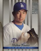 Hideo Nomo LIMITED STOCK RARE DonRuss Studio LA Dodgers 8x10 Photo