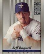 Jeff Bagwell LIMITED STOCK RARE DonRuss Studio Houston Astros 8x10 Photo