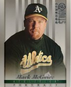 Mark McGwire LIMITED STOCK RARE DonRuss Studio Oakland Athletics 8x10 Photo