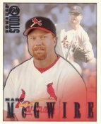 Mark McGwire LIMITED STOCK RARE DonRuss Studio St. Louis Cardinals 8x10 Photo
