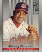 Manny Ramirez LIMITED STOCK RARE DonRuss Studio Cleveland Indians 8x10 Photo